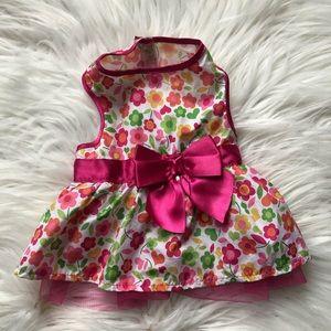 Spring Floral Dog Dress